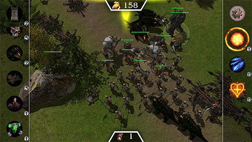 Screenshots von Castle wars 2 für Android-Tablet, Smartphone.
