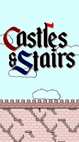 Castles and stairs poster