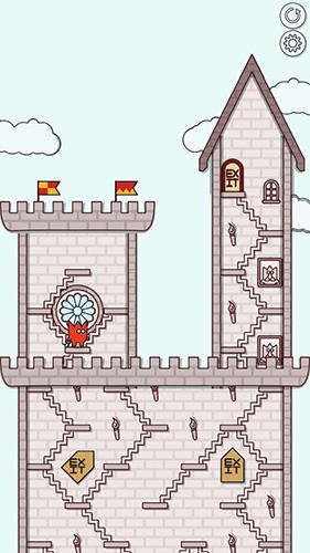 Castles and stairs screenshot 1