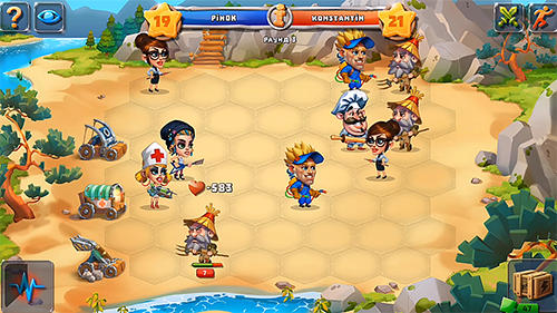 Casual heroes: Turn-based strategy screenshot 1
