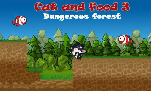Cat and food 3: Dangerous forest обложка