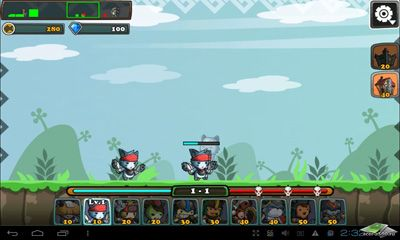 Download Cat War Android free game.
