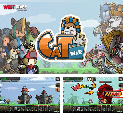 In addition to the game Tower Storm GOLD for Android phones and tablets, you can also download Cat War for free.