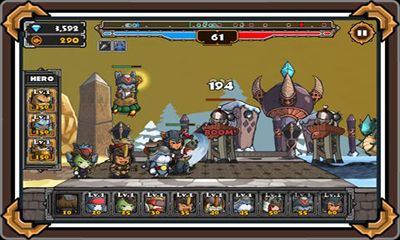 Screenshots von Cat War 2 für Android-Tablet, Smartphone.