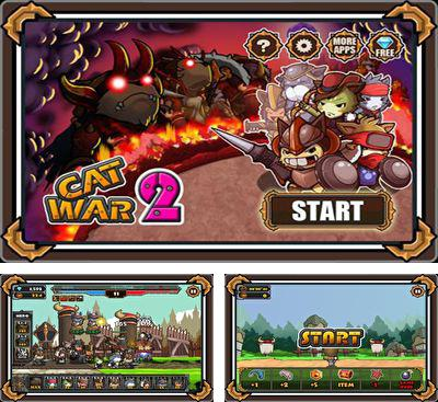 In addition to the game Forest Defense for Android phones and tablets, you can also download Cat War 2 for free.
