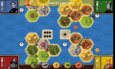 Screenshots von Catan für Android-Tablet, Smartphone.