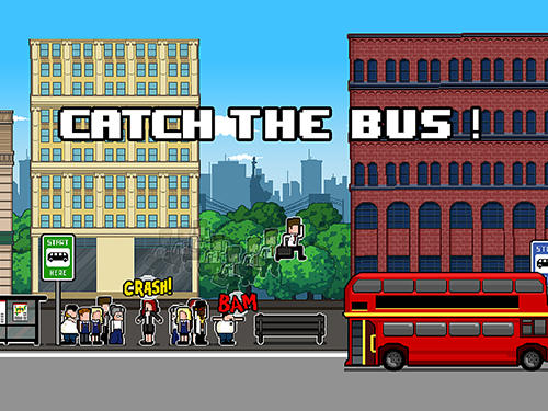 Catch the bus poster