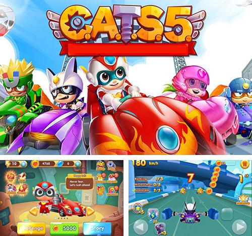 Cats5: Car arena transform shooter five
