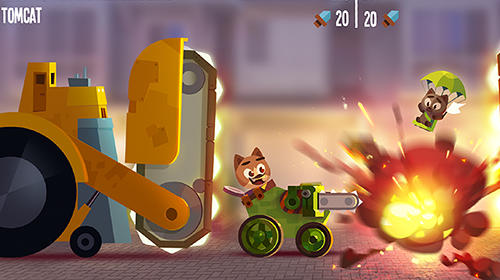CATS: Crash arena turbo stars für Android spielen. Spiel CATS: Crash Arena Turbo Stars kostenloser Download.