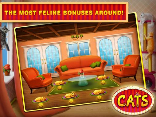 Cats slots: Casino vegas screenshot 2