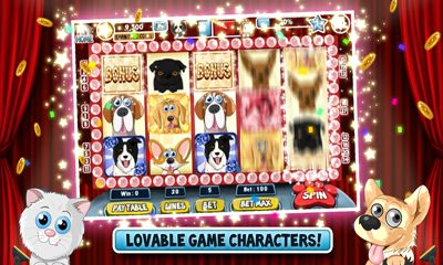 Screenshots von Cats vs Dogs Slots für Android-Tablet, Smartphone.
