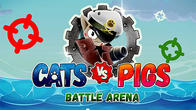 Cats vs pigs: Battle arena APK