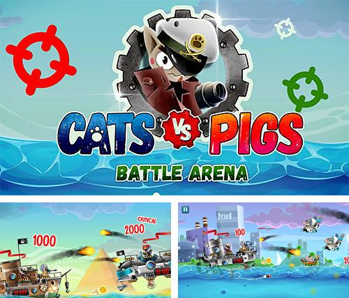 Cats vs pigs: Battle arena