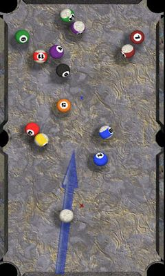 Screenshots of the Caveman Pool for Android tablet, phone.