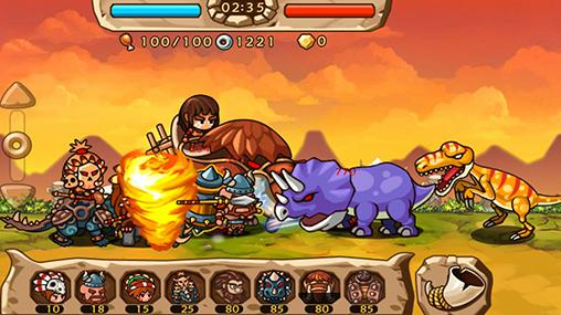 Caveman vs dino screenshot 4