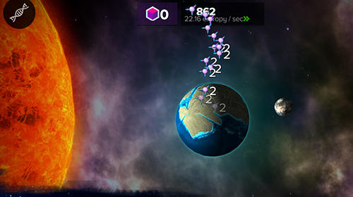 Screenshots von Cell to singularity: Evolution never ends für Android-Tablet, Smartphone.