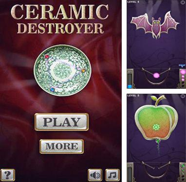 In addition to the game Amazing Breaker for Android phones and tablets, you can also download Ceramic Destroyer for free.