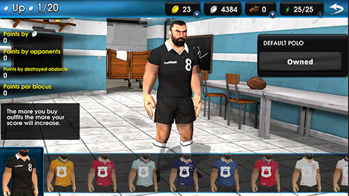 Chabal run: The impact player screenshot 1
