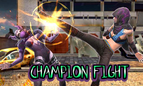 Champion fight 3D poster