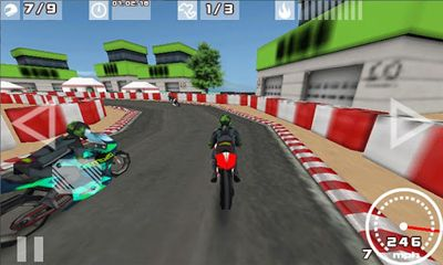 Screenshots of the Championship Motorbikes 2013 for Android tablet, phone.