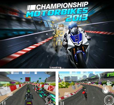 In addition to the game Paper Glider vs. Gnomes for Android phones and tablets, you can also download Championship Motorbikes 2013 for free.
