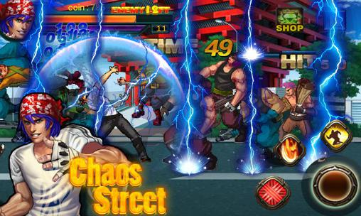 Screenshots von Chaos street: Avenger fighting für Android-Tablet, Smartphone.