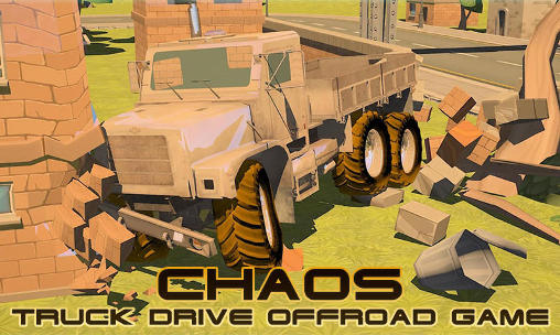 Chaos: Truck drive offroad game poster