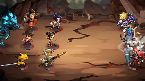 Screenshots von Chaos world 2: Ultimate fighter für Android-Tablet, Smartphone.