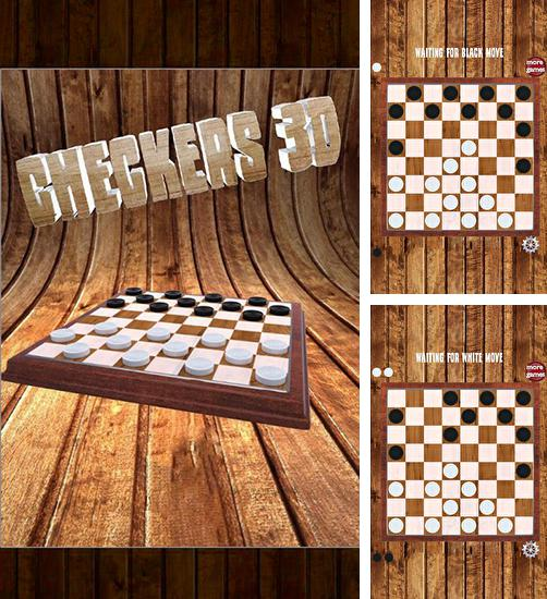 In addition to the game Real checkers for Android phones and tablets, you can also download Checkers 3D for free.