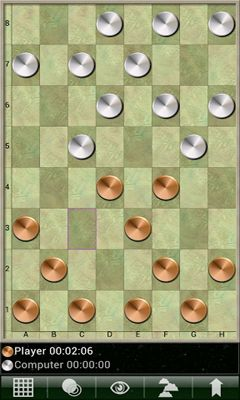 Screenshots of the Checkers Pro V for Android tablet, phone.