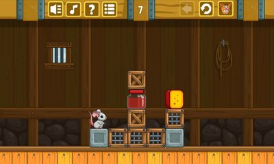 Screenshots of the Cheese Barn for Android tablet, phone.