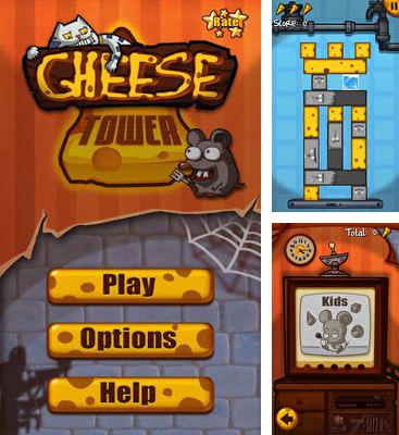In addition to the game Five Towers for Android phones and tablets, you can also download Cheese Tower for free.