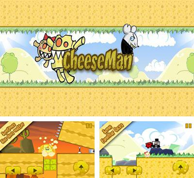 In addition to the game Pirate Wings for Android phones and tablets, you can also download CheeseMan for free.