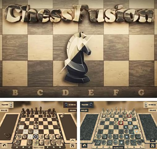 In addition to the game Real chess for Android phones and tablets, you can also download Chess fusion for free.