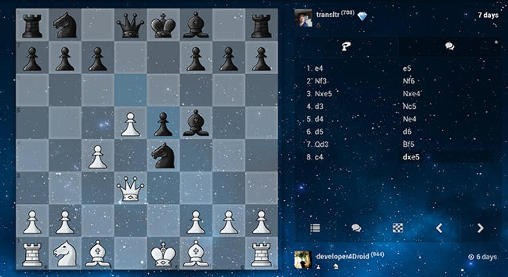Screenshots von Chess: Play and learn für Android-Tablet, Smartphone.