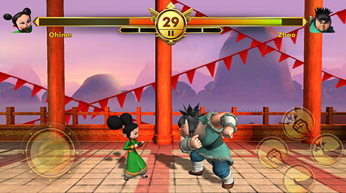安卓平板、手机Chhota Bheem: Kung fu dhamaka. Official game截图。