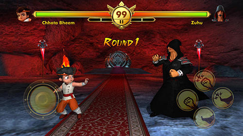 Screenshots von Chhota Bheem: Kung fu dhamaka. Official game für Android-Tablet, Smartphone.