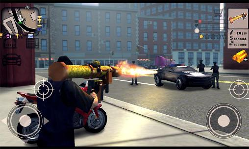 Гра Grand gangster: Crime simulator 3D на Android - повна версія.