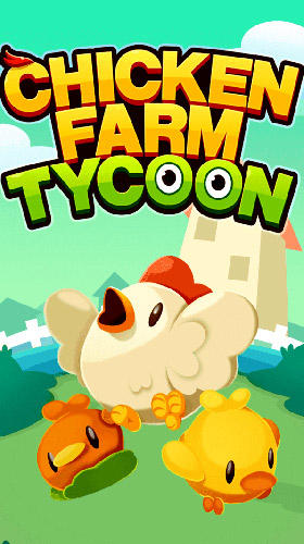 Chicken farm tycoon: Idle merge game poster
