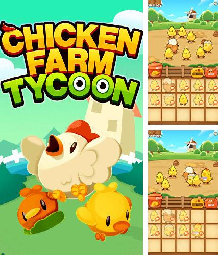 Chicken farm tycoon: Idle merge game