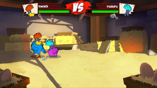 Juega a Chicken fighters para Android. Descarga gratuita del juego Pollos luchadores.