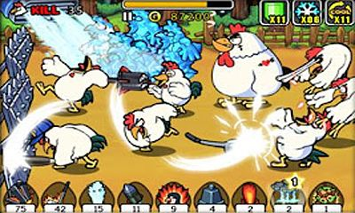 Screenshots von Chicken Revolution für Android-Tablet, Smartphone.