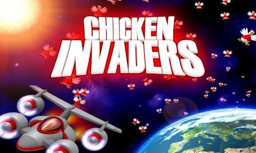 Chicken shoot: Xmas. Chicken invaders poster