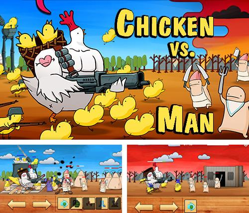 Chicken vs man