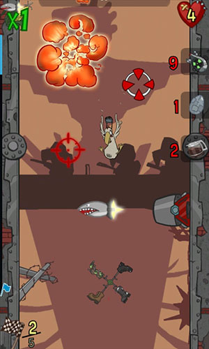 Screenshots von Chickens Can't Fly für Android-Tablet, Smartphone.