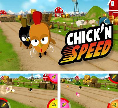 In addition to the game Mysterious Raygun for Android phones and tablets, you can also download Chick'n Speed for free.