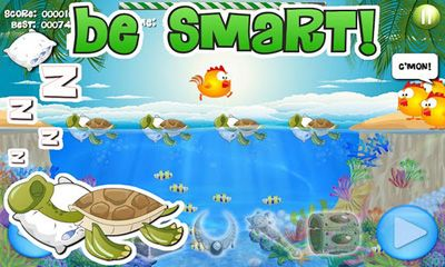 Juega a Chicks and Turtles para Android. Descarga gratuita del juego Tortugas y pollos.