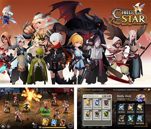 In addition to the game Unknown heroes for Android phones and tablets, you can also download Child of star for free.
