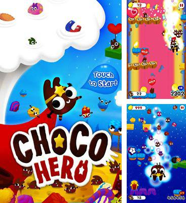 In addition to the game Aliens Goo for Android phones and tablets, you can also download Chocohero for free.