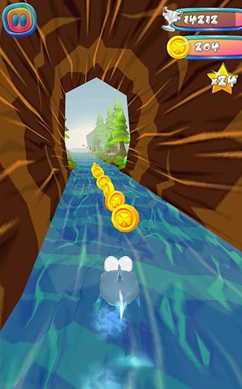Choppy fish: 3D run скриншот 5